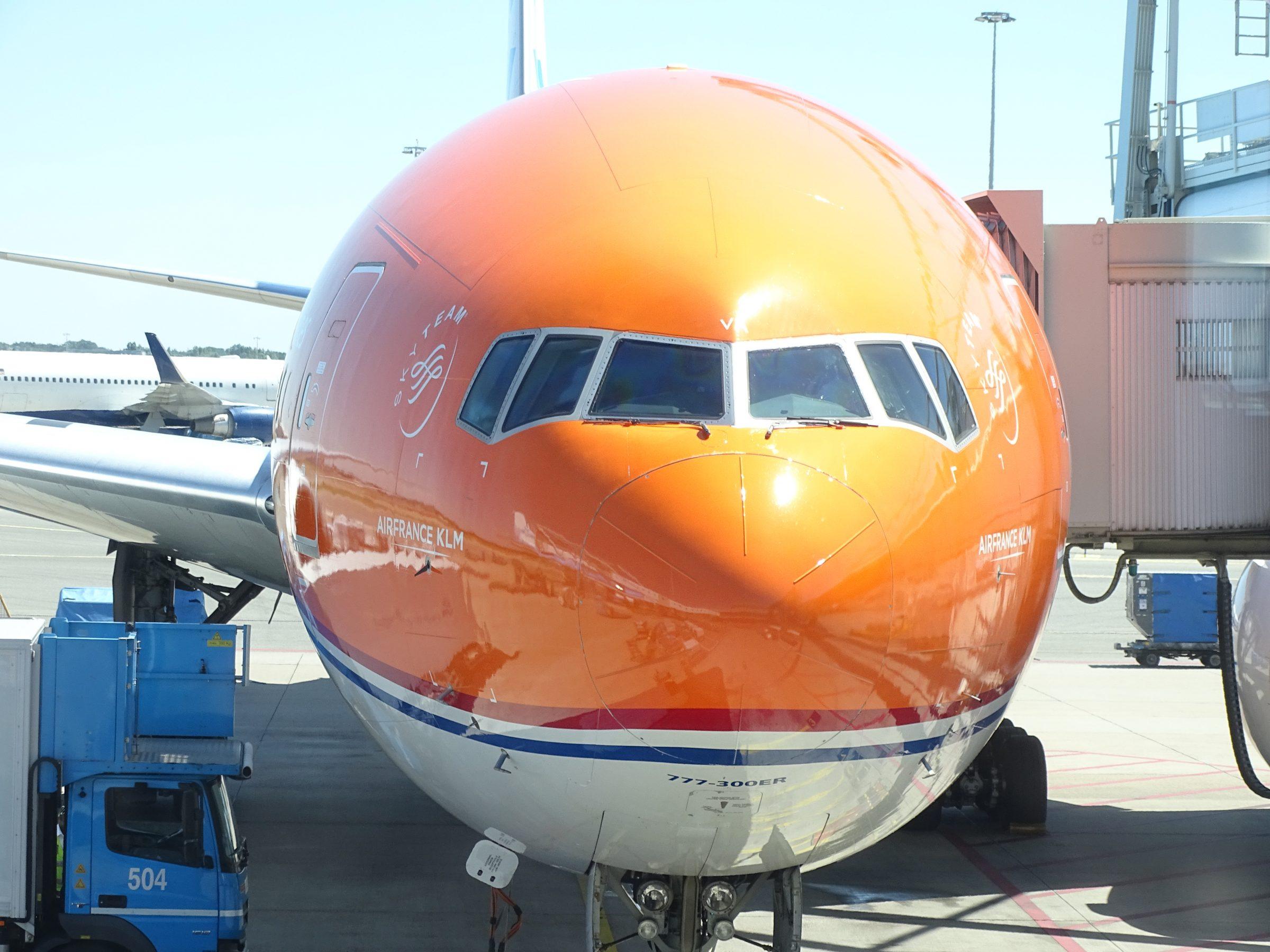 KLM Orange 777